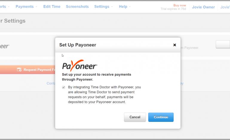 payoneer option